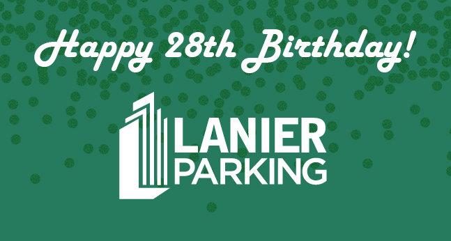 Happy 28th Birthday Lanier Parking