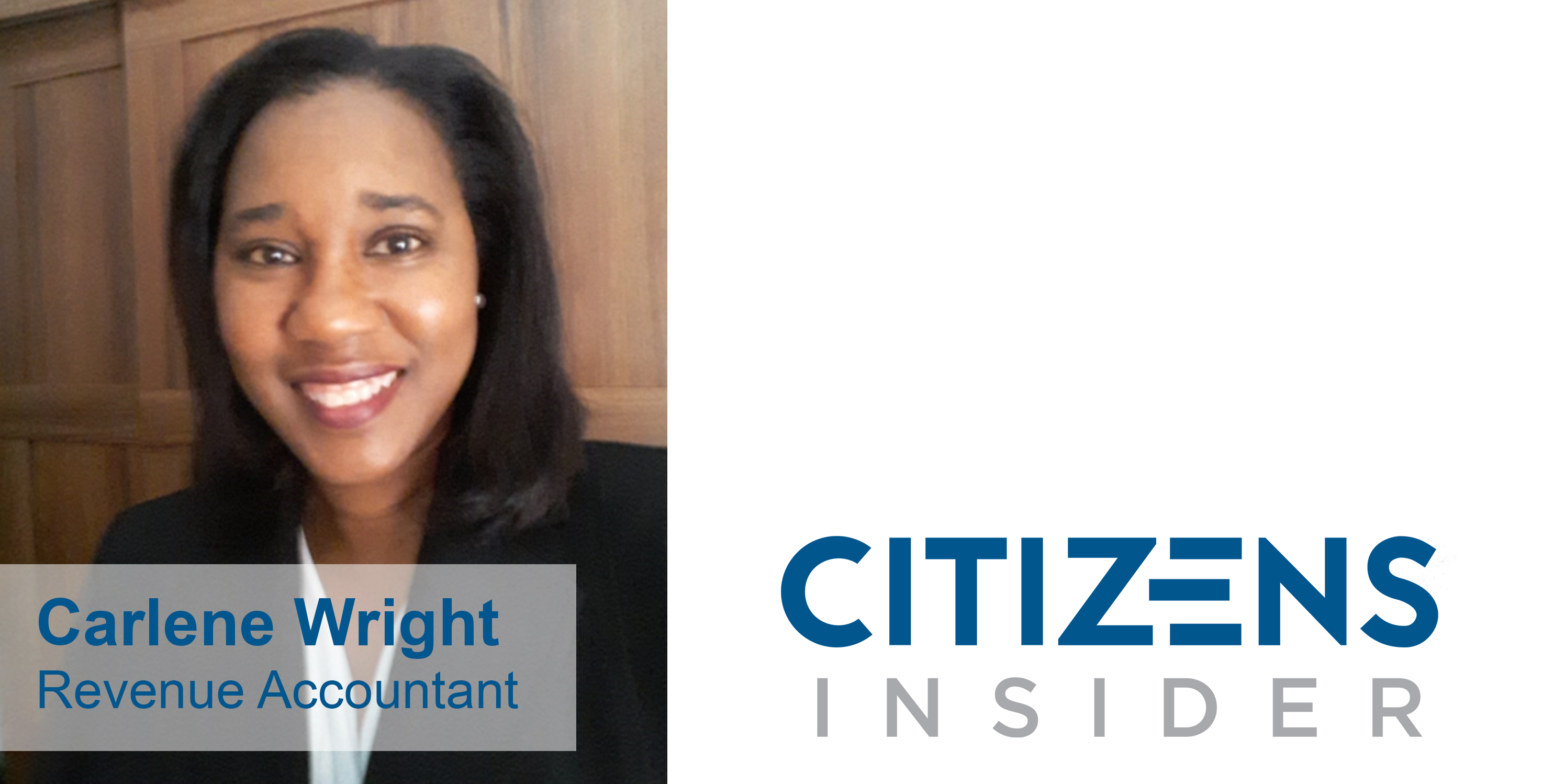 Citizens Insider: Carlene Wright