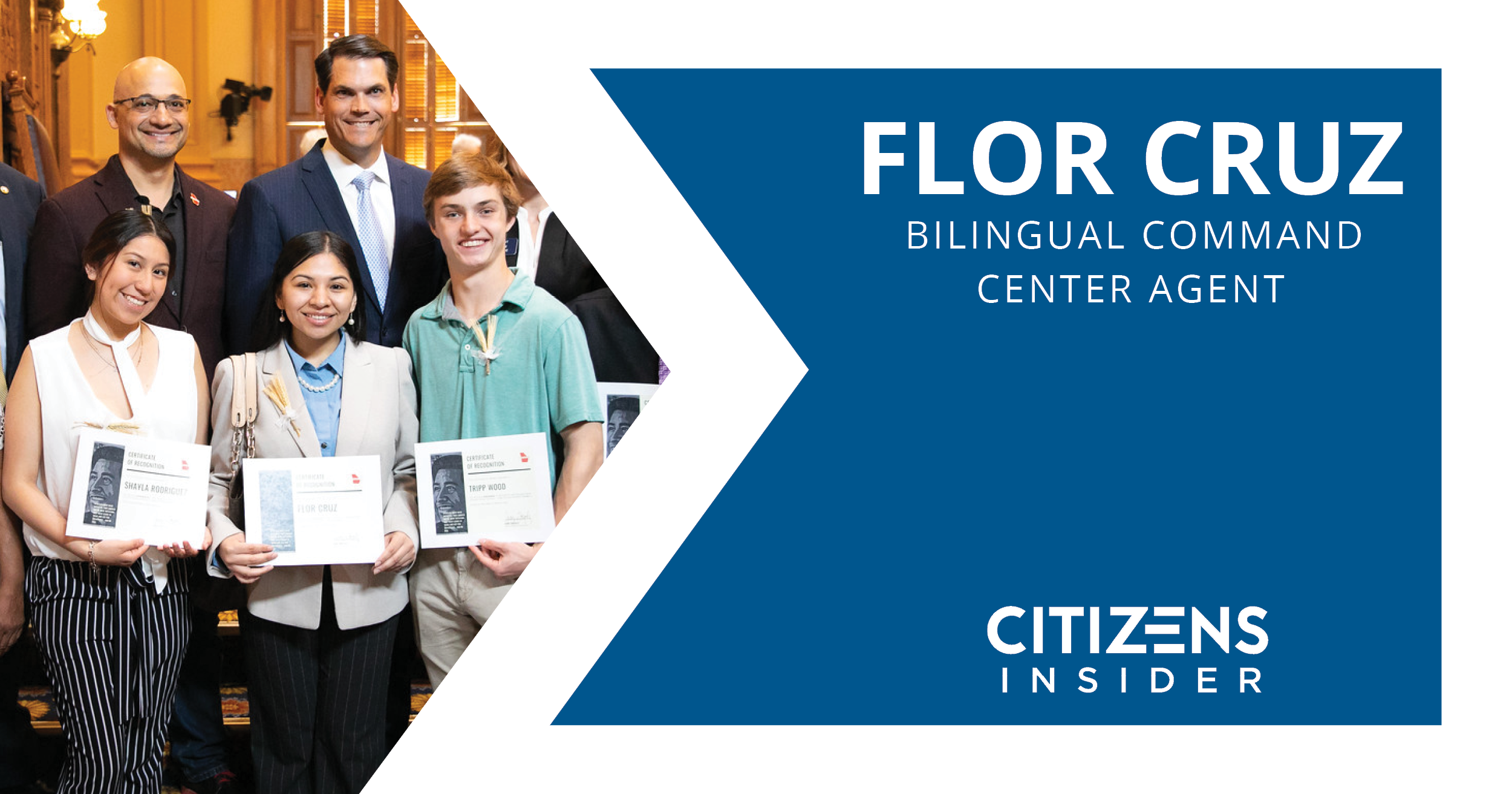 Citizens Insider: Flor Cruz